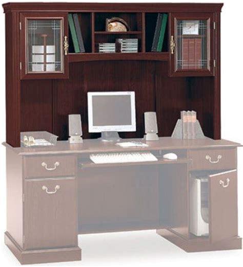 bush saratoga l desk bush ex45611 03 saratoga executive collection hutch