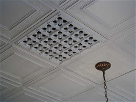 Vented Drop Ceiling Tiles T Bar Ceiling Grilles Beaux Arts Classic Products