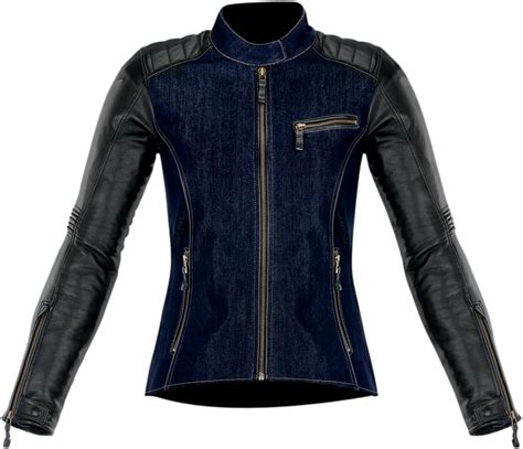 blue motorcycle jacket womens black leather moto jacket biker jacket women