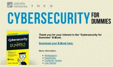 free ebook cyber security for dummies