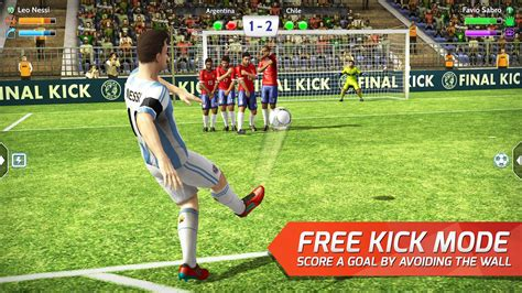 best free soccer kick football android apps on play