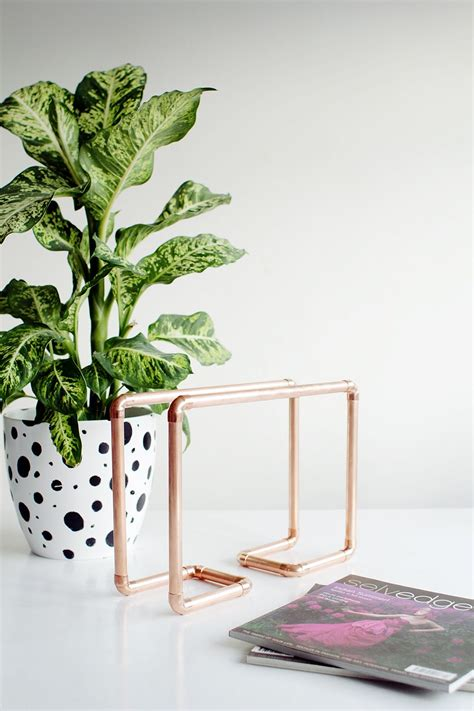 the warm glow of copper decor 15 awesome diy copper pipe decor for sparkly home improvement
