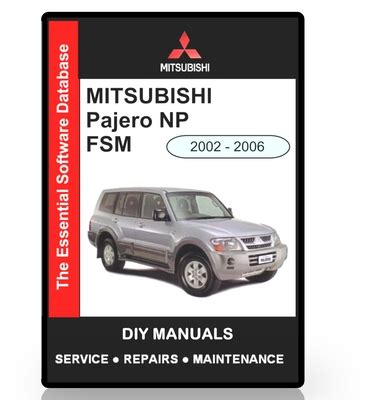 automotive service manuals 2002 mitsubishi pajero navigation system mitsubishi pajero np workshop manual download manuals tech