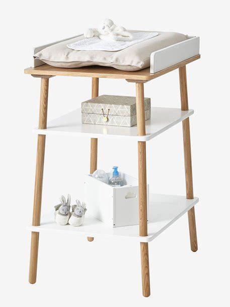 table 224 langer ligne confetti blanc bois vertbaudet