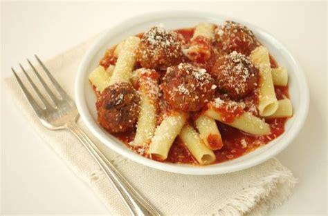Recipe for ziti with meatballs   The Boston Globe