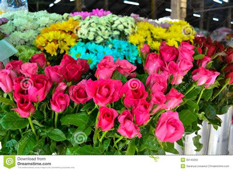 Flowers For Sale by Flowers For Sale At Market Stock Photo Image 35143250