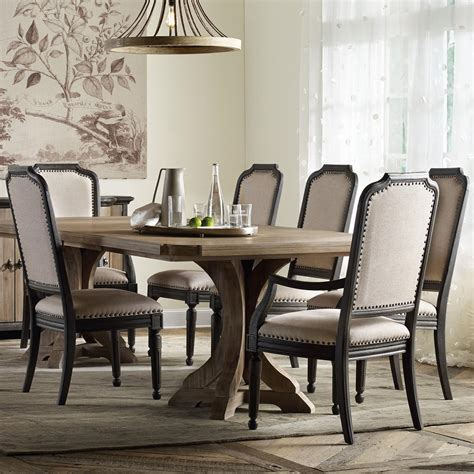 hooker dining room set hooker furniture corsica rectangle pedestal dining table