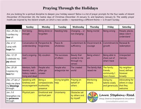 printable advent calendar prayers advent prayer calendar laura stephens reed