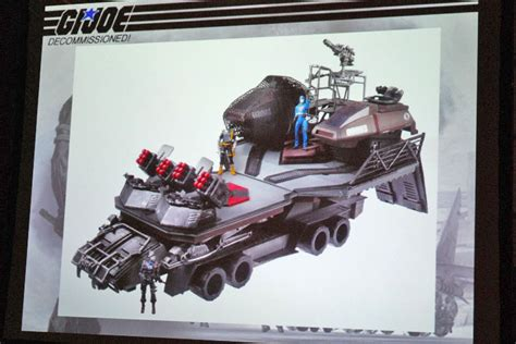 gi joe mobile command center rise of cobra howler and hasbro archive images hisstank