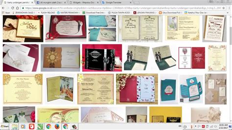 desain undangan pernikahan coreldraw x7 tutorial cara membuat desain kartu undangan pernikahan di