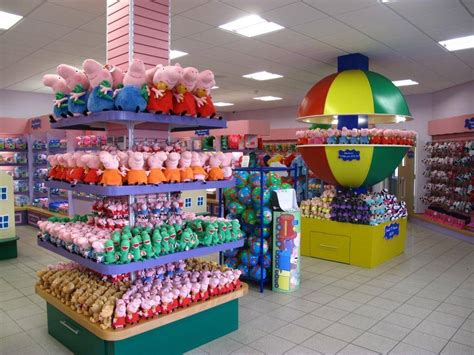 Paultons Park step inside the largest peppa pig toy shop in the world