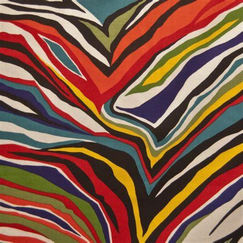 colorful zebra print zebra funky colorful zebra print multi color quilting
