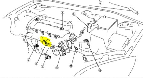 2004 forester maf sensor location wiring diagram and