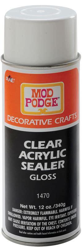 mod podge acrylic paint on canvas mod podge clear acrylic sealer spray gloss 12 oz cans