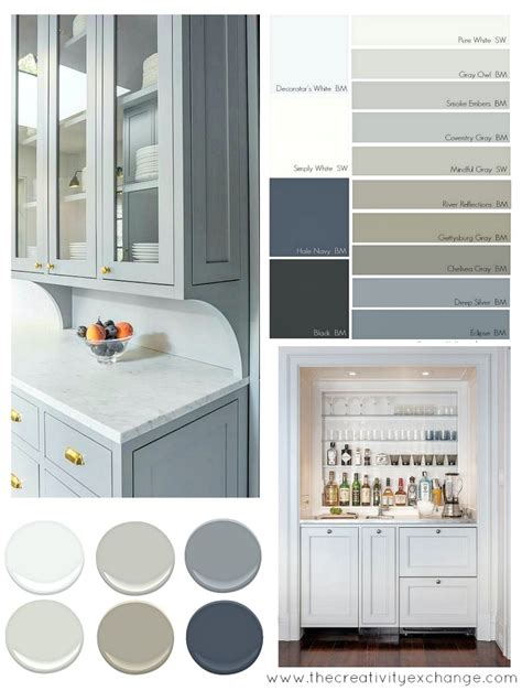 Best Kitchen Cabinet Colors | most popular cabinet paint colors smoke cabinet paint