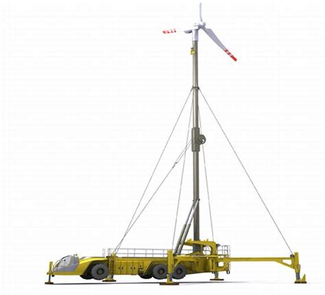 mobile wind mobile wind turbine provides clean energy anywhere