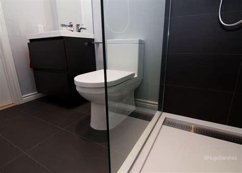 Curbless shower base   Céramiques Hugo Sanchez Inc