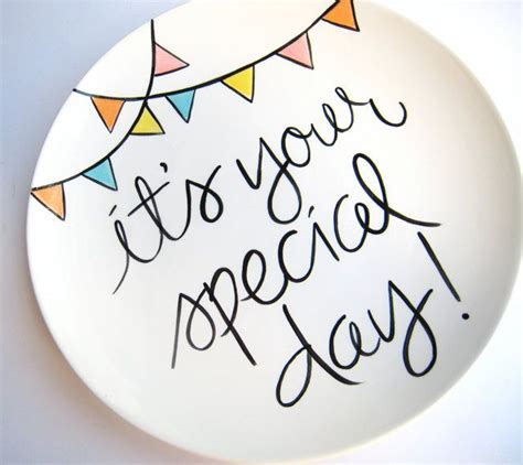 day special it s your special day large plate by aedriel originals