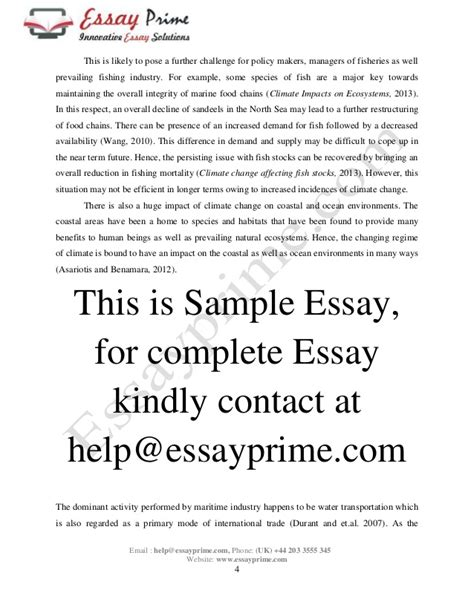 integrity essay spatial essay climate change and maritime sector essay sle