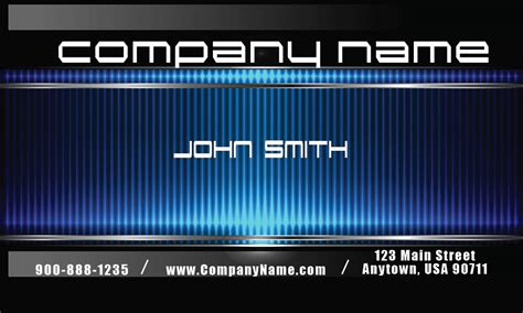 mechanic business cards templates free blue mechanic business card design 2501091