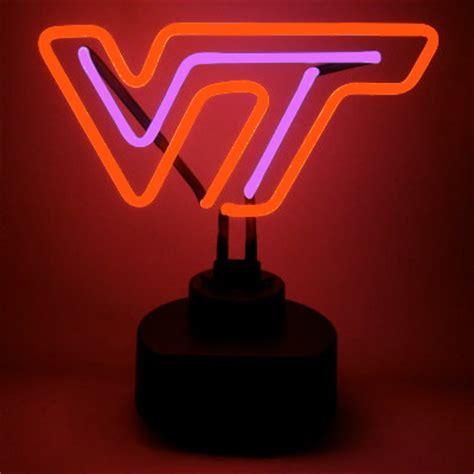 virginia tech university neon sign hokies man cave gifts
