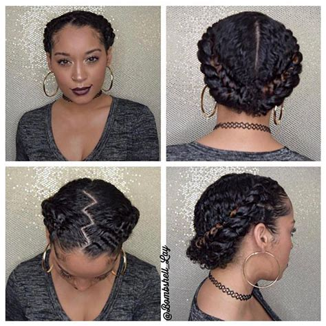 Protective Hairstyles For Curly Hair by Best 25 Protective Styles Ideas On Protective
