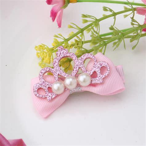 shiny hair accessories children baby beautiful stylish hair accessory pearl baby accessories hollow