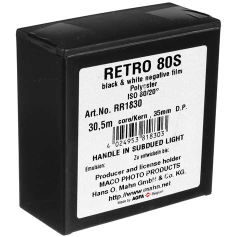 Roll 135 Agfa Retro 80s rollei agfa retro 80s black and white negative 810810 b h