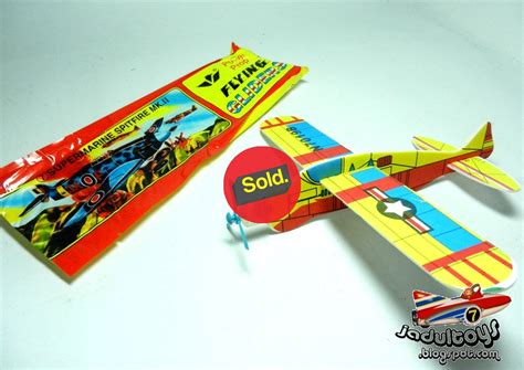 Mainan Pesawat Gabus jadultoys pesawat gabus flying glider ready stock