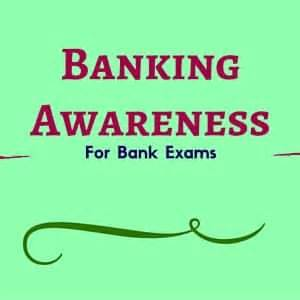 recent bank exams banking financial awareness revision for bank exams