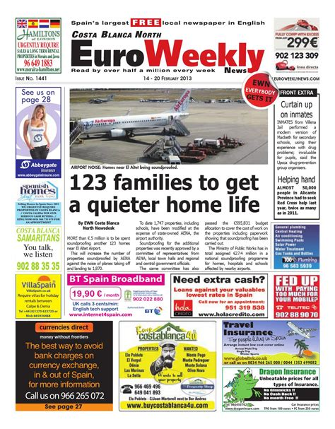 issuu euro weekly news costa del sol 19 25 december 2013 issue costa blanca north 14 20 february 2013 issue 1441 by