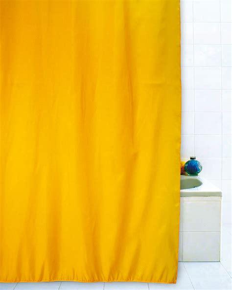 giallo tende tenda doccia giallo 240x200
