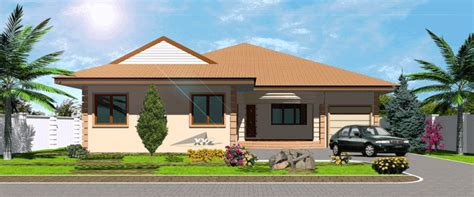 house designs and floor plans ghana ghana house plans okyeame house plan