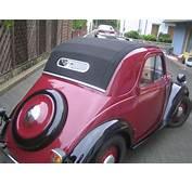 Fiat Topolino Faltverdeck Verdeck Erneuert