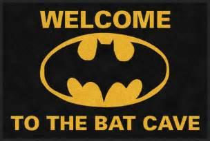 Doormat Carpet Batman Batcave Logo Rug Rug Rats