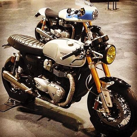 Beckham Set 2in1 Bn8849 amazing custom version of the new triumph thruxton r cafe racer the o jays