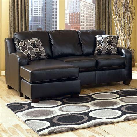 devin couch devin durablend black sofa chaise queen sleeper