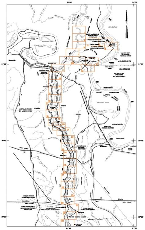section 408 usace 2006 atchafalaya river system hydrographic survey book