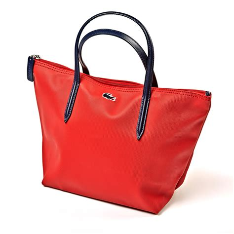 L Coste Shopper Bag 11207 Tas Wanita Tote Canvas Waterproof lacoste designer womens bag tote shopper handbag brand new ebay