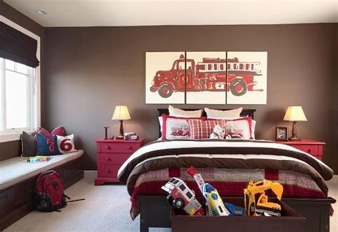 cute boy bedroom ideas cute i need to redecorate my sons fireman s bedroom to