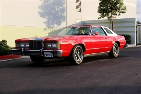 images of 1977 mercury cougar medium red sell used no reserve 1977 mercury cougar xr 7 excellent