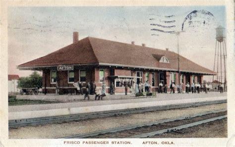 afton oklahoma depot 187 frisco archive