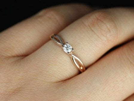 Box Set Cincin One 25 best ideas about twist engagement rings on