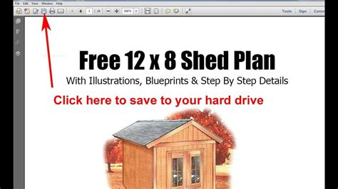 garden storage shed plans youtube
