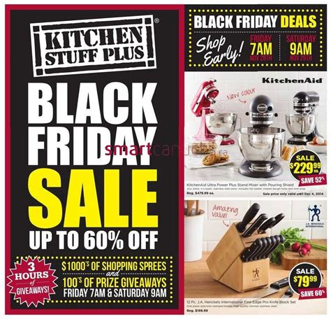 Kitchen Stuff Plus Black Friday 2014 Flyer