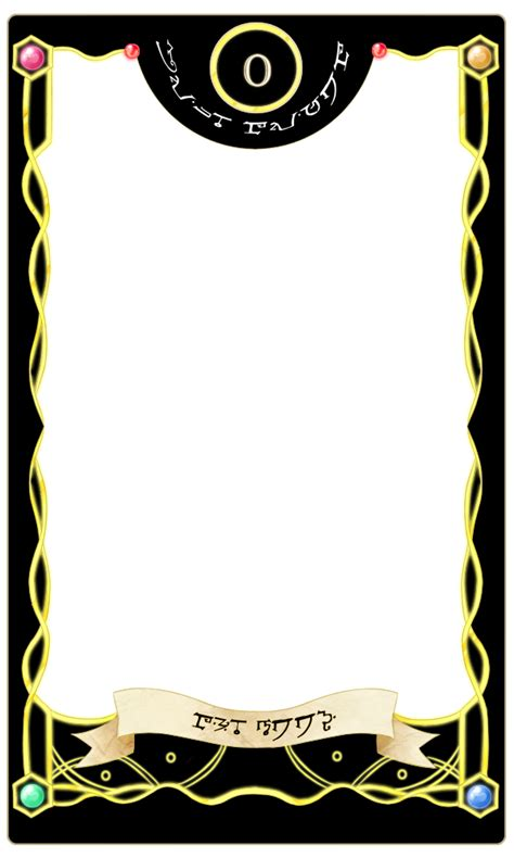 tarot card template psd mage tarot meme by ronoia on deviantart