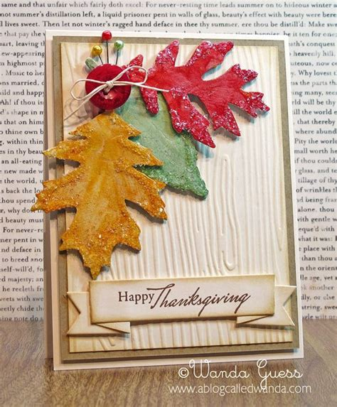 fall cards to make beautiful fall leaves card card