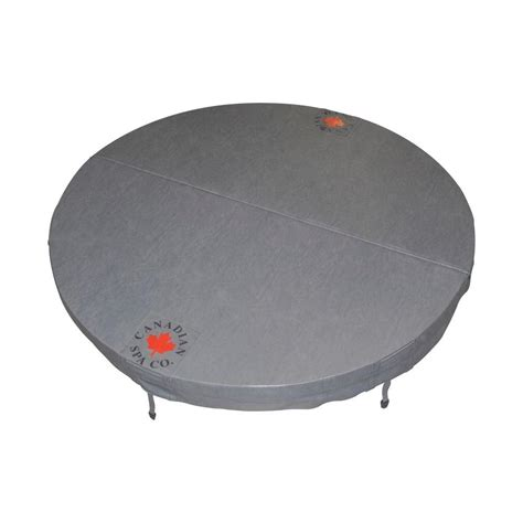 bathtub covers home depot canadian spa company 78 in round hot tub cover with 5 in