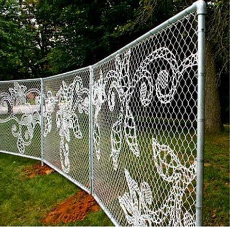vegetable garden chain link fence the interior design