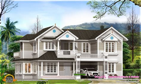 colonial house plan kerala home design and floor plans
